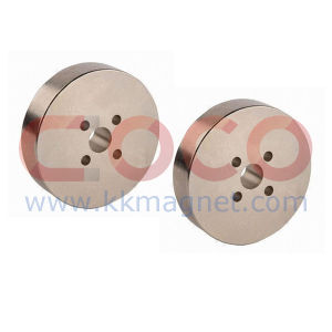 Disc NdFeB Permanent Magnets with Five Holes pictures & photos