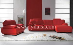 Corner Leather Sofa (980)