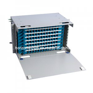 96 Fibers ODF 19′′ Rack Mount Distribution Box (ODF-B-96)