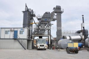 High Efficiency and Low Comsumption 64t/H Mobile Asphalt Mixing Plant pictures & photos