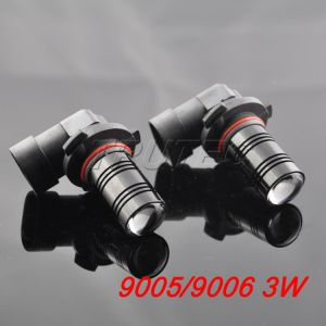 Car LED Projector Lens Lights (9006-3W)