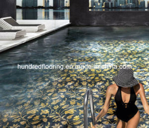Glass Mosaic Pattern Design Swimming Pool Mosaic (HSP329) pictures & photos