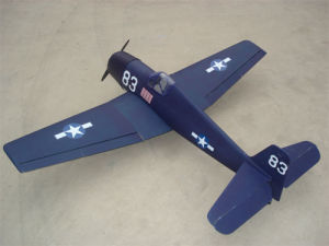 China Warbird RC Model (F6F Hellcat-90) - China RC airplane