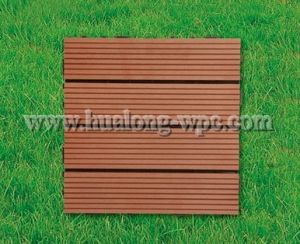 WPC Decking Wood Plastic Composite DIY Tile for Outdoor pictures & photos