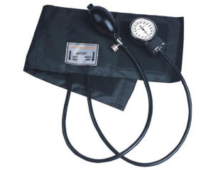 Medical Aneroid Sphygmomanometer with Stethoscope pictures & photos