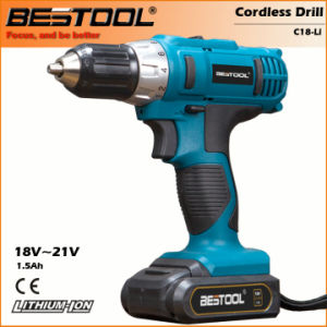 Professional Quality 18V 2000mAh Cordless Drill (HD1906-1820) pictures & photos