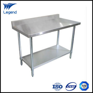 Amazing 48 Inches Stainless Steel Work Bench With Back Splash