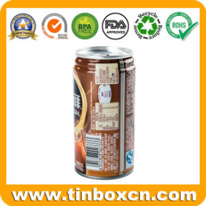 250ml Coffee Easy Open Lid Tin Can Manufacturer pictures & photos