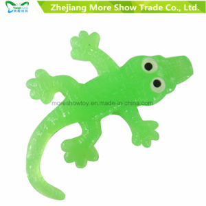 China Promotional Anti Stress Jelly Soft Sticky Lizard Creatures