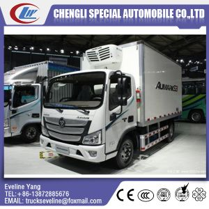 Hot Sale Small 5 Tons Foton Brand Freezer Truck for Chicken, Pork, Beef, Mutton, Fish pictures & photos