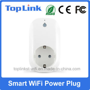 Low Cost EU Type E/F Smart WiFi Power Socket with APP for Local/Remote Control Home Electronic Device
