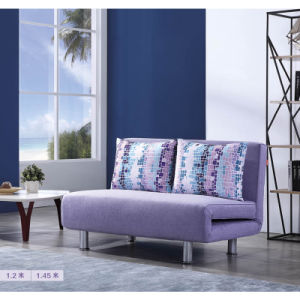 China Promotion 3 Folded Sofa Bed in Simple Style China Folding