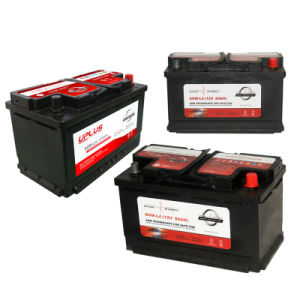 AGM-L4 Factory Suppliers 12V 80ah AGM Power Battery Auto Battery pictures & photos