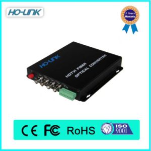 China Best Support Hot Sale 4 Channel Fiber Optic Video