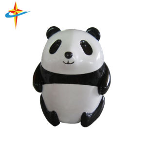 China Panda Shape Plastic Manual Pencil Sharpeners pictures & photos