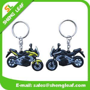 Promotional Gifts Custom Logo Rubber Key Chain Product (SLF-KC017)