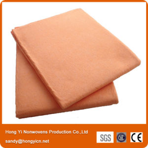 Viscose and Polyester Needle Punched Nonwoven Fabric Pet Drying Towel