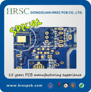 Agriculture Machinery PCB 10layers Hal Lf PCB with Green Solder Mask pictures & photos