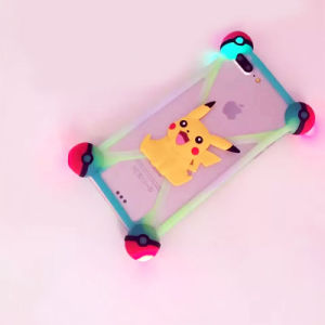 Universal Illuminated Pikachu Silicone Phone Case/Cover