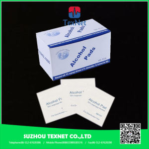 China Manufacturer Medical Sterile 70% Isoproply Alcohol Prep Pad with Ce Certificate pictures & photos