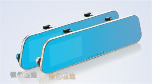 Blue Rear-View Mirror Car DVR Vehicle