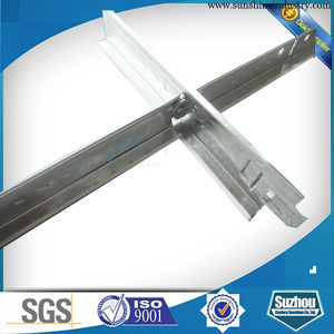 Galvanized Steel Materials Suspended Ceiling Frame T Bar