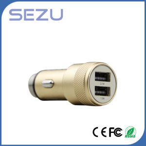 Factory Price Hot Sale Multi-Function Car Charger with Emergency Metal Safety Hammer pictures & photos