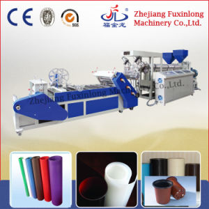 Diagonal Double-Layer PP Sheet Extruding Machine pictures & photos