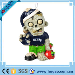 Customized Halloween Decoration Resin Skull Figurine pictures & photos
