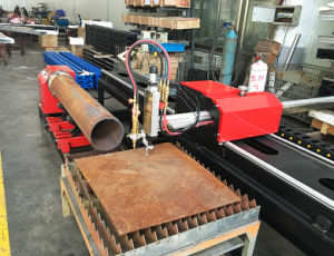 Xg-300j Pipe CNC Profiling Shape Cutting Machine pictures & photos