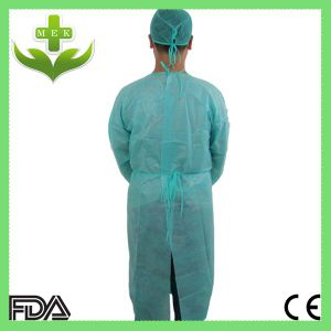 Hubei Disposable PP Non Woven Surgical Gown Customized Design pictures & photos