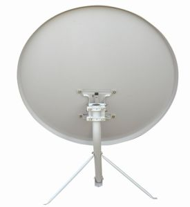 Ku-Band Satellite Antenna 90cm with Wall Mount pictures & photos