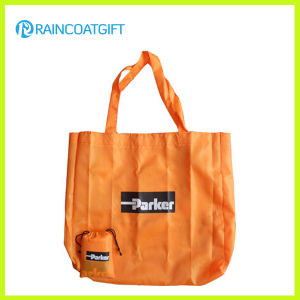 Reusable 210t Polyester Folding Handbag for Promotion pictures & photos