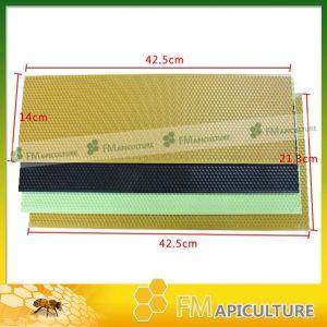Beeswax Foundation Sheet Plastic Bee Frame Foundation Sheet