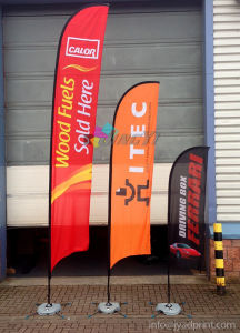 Advertising Flying Beach Flag Banner Printing