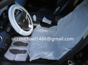 HDPE Clear White Plastic Car Seat Cover