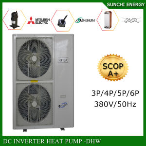 Spian Evi Tech-25c Winter House Floor Heating 120sq Meter 12kw/19kw/35kw Highcop Auto Defrost Split Air-Water Heat Pump Inverter pictures & photos