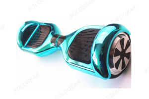 Two Wheel Hoverboard with Flashing Metalic Color