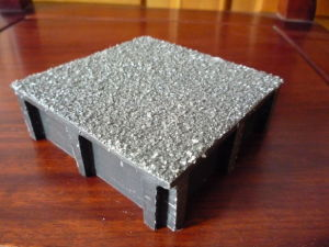 High Strength FRP Gritted Top Cover Grating pictures & photos