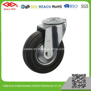 200mm Swivel Plate with Brake Industrial Castor (P102-11D200X50S) pictures & photos
