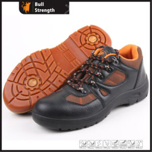 Industrial Leather Safety Shoes with Steel Toe and Steel Midsole (SN5255) pictures & photos