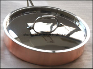 10PCS 3 Ply Composite Material Copper Cookware Set pictures & photos
