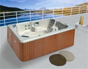 Sanitary Hot Selling Outdoor Whirlpool Leisure Jacuzzi (M-3319) pictures & photos