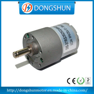 Ds-37RS3525 Low Noise Low Speed 12V 24V DC Gear Motor