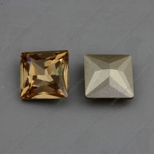 Square Fancy Strass Stones Beads for Crystal Jewelry pictures & photos