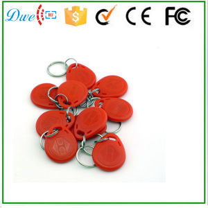 125kHz Em ID or 13.56MHz F08 S50 S70 RFID ABS Keyfob for Access Control System pictures & photos
