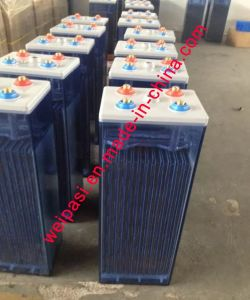 2V420AH OPzS Battery, Flooded Lead Acid battery that Tubular Plate UPS EPS Deep Cycle Solar Power Battery VRLA Battery 5 Years Warranty, >20 years Life pictures & photos