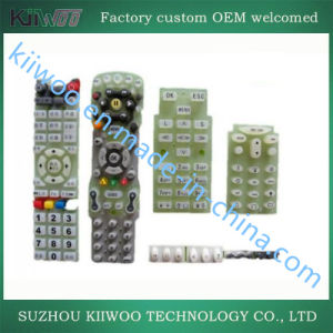 Custom TV Remote Panel Prototype Silicone Keypads