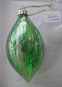 Olive Shaped X′mas Ornaments pictures & photos