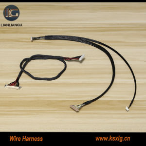 multiple pin 1 to2 lvds data cable wiring harness for home appliance